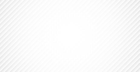 Fototapeta White abstract modern background with diagonal lines. Vector illustration obraz