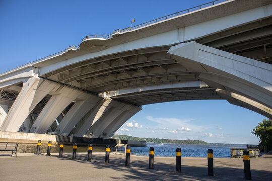 Side View of Woodrow Wilson Memorial Bridge - Jones Point Park, Alexandria, VA