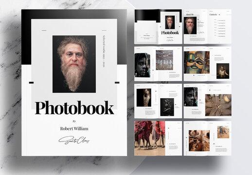 Professional Portfolio or Photobook Layout
