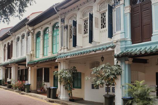Colonial Era Streetscape - Singapore
