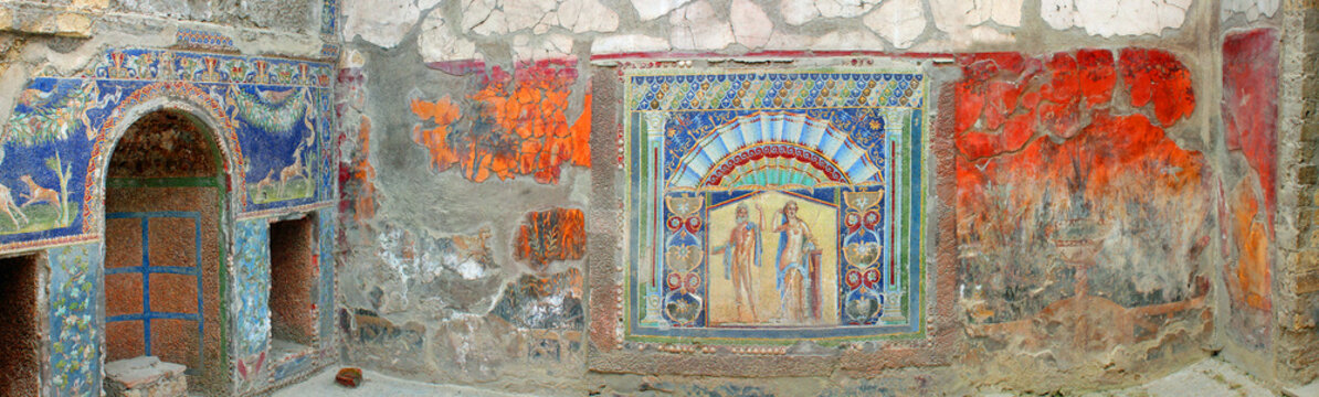 House of the Mosaic of Neptune and Amphitrite, Herculaneum, Italy