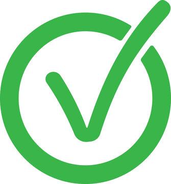 icon simbol quiality mark correct yes
