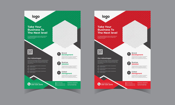 Business Flyer Corporate Flyer Template