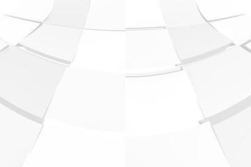 Obraz Białe kształty 3D, abstralty. jasne tło - fototapety do salonu