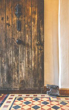 Late 17th Century English Farm House Entrance Door & Hall