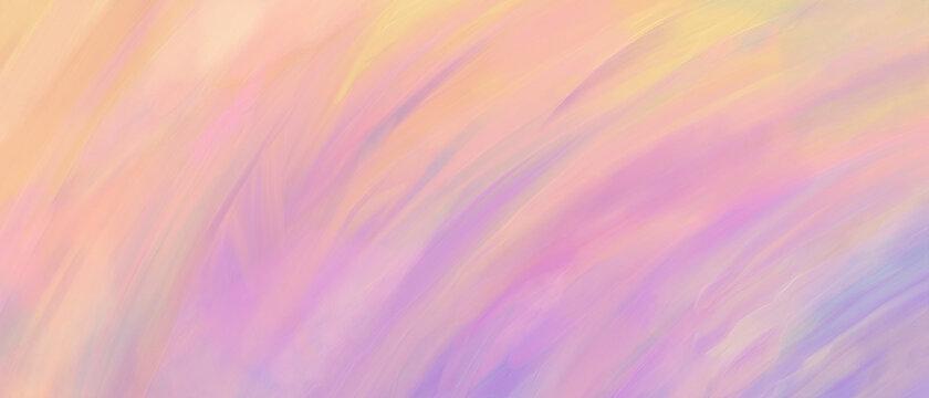 油彩グラデーション抽象背景 ピンク 紫 手描き 油絵 絵の具 アート