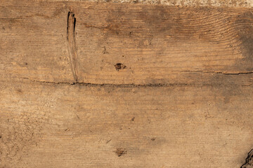 Texture of the old dark wood with a natural pattern