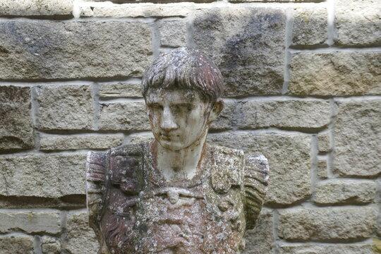 Vindolanda archaeological dig in Northumberland