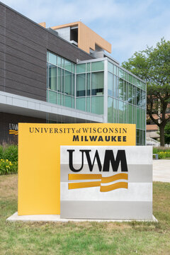 University of Wisconsin–Milwaukee Entrance and Trademark Logo