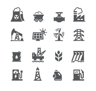 Energy Icon Set -- Utility Series