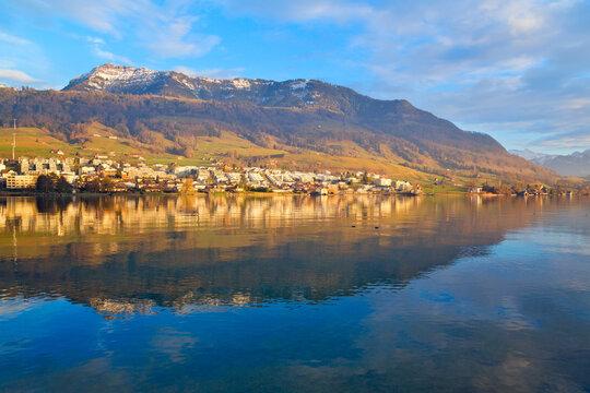 Küssnacht am Rigi, Vierwaldstättersee, Schweiz