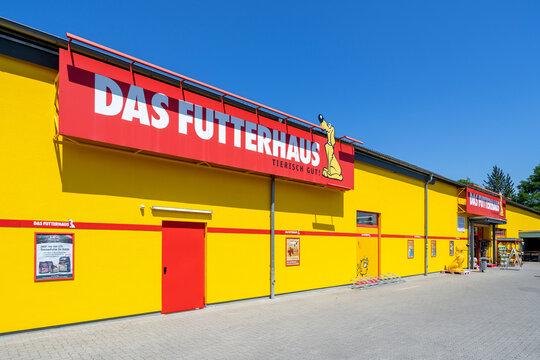 KIEL, GERMANY - June 17, 2021: Das Futterhaus pet supply store.
