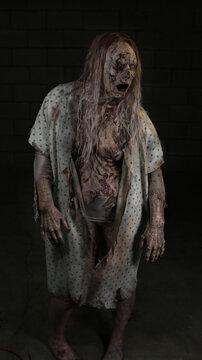 Zombie woamn #7
