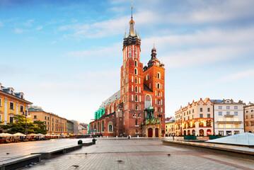 Obraz Krakow in Poland - fototapety do salonu