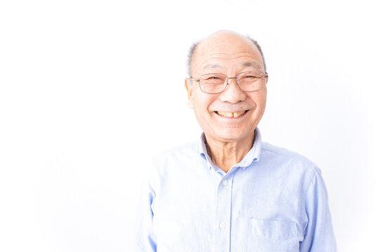 笑顔のおじいさん