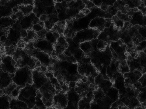 黒色の大理石のテクスチャ背景素材