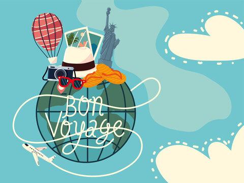 bon voyage tourism card