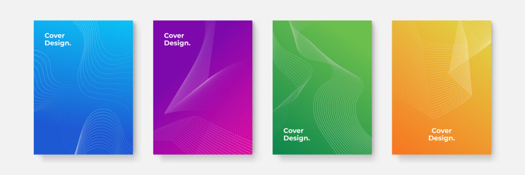 Business vector mega set. Brochure template layout, cover design. The vector illustration of the editable layout of A4 format cover mockups design templates with geometric background made from dots