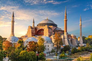 Fototapeta Hagia Sophia, famous landmark of Istanbul, Turkey obraz