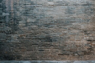 Chinese traditional building stone wall background