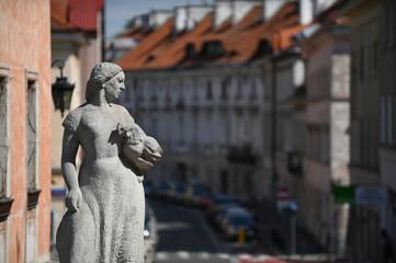 Obraz Warsaw, Poland, Warszawa, Polska. - fototapety do salonu