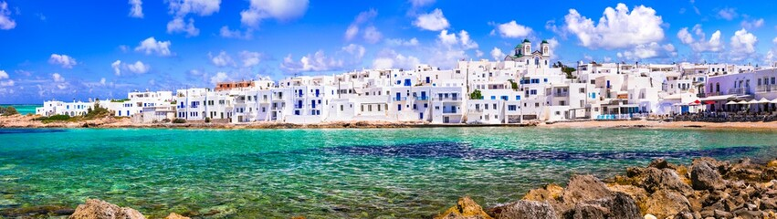 One of the most beautiful traditional fishing villages of Greece - Naoussa in Paros island, Cyclades