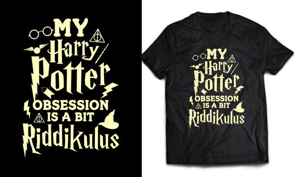 My Harry Potter obsession is a bit Riddikulus