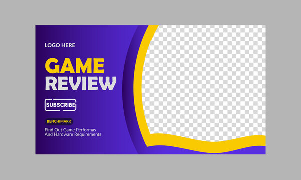 Game Review- Youtube Thumbnail