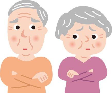 シニア夫婦、不信感、仲違い