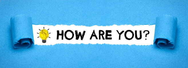 Obraz How are you? - fototapety do salonu