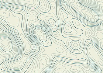 Abstract background with a contour topography landscape design