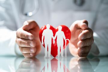 Fototapeta Health And Life Insurance obraz