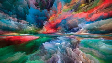 Fototapeta Reality of Land and Sky obraz