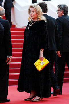 """The 74th Cannes Film Festival - Screening of the film """"De son vivant"""" (Peaceful) Out of Competition - Red Carpet Arrivals"""