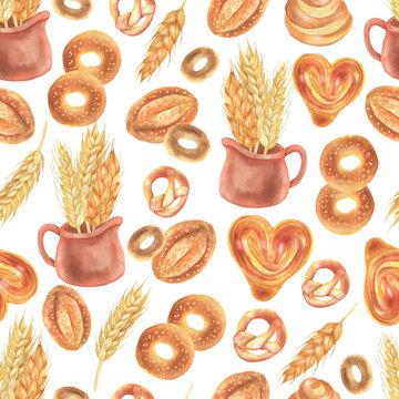 Baking and wheat pattern