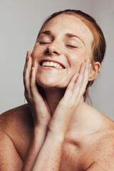 Fototapeta Good skin care routine obraz