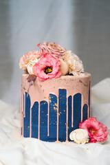Fototapeta Tort urodzinowy obraz