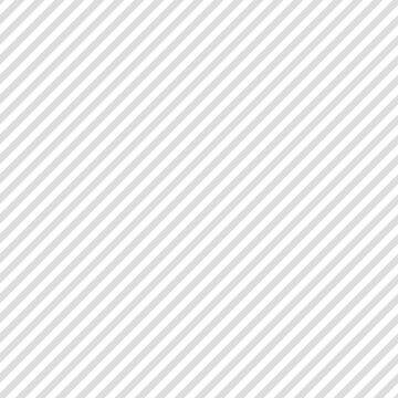 シンプルな斜めストライプのシームレスパターン 灰色