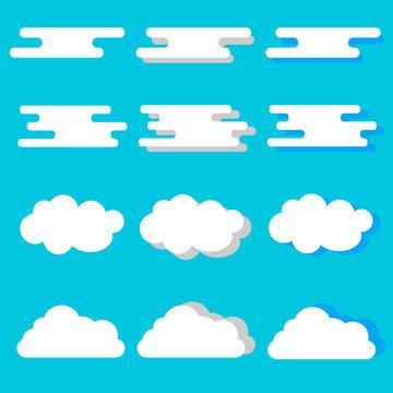 雲 イラスト パターン