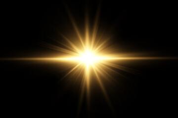 Obraz Vector transparent sunlight special lens flare light effect. PNG. Vector illustration . - fototapety do salonu