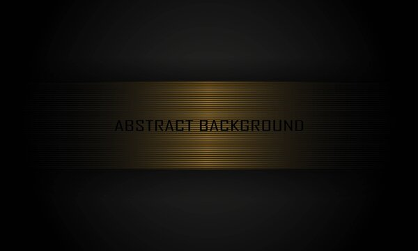 abstract background with elegant gold square in the middle for cover, banner, poster