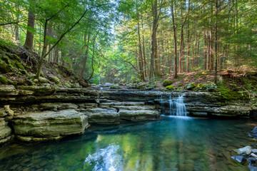 Fototapeta Hemlock Falls, Fall Creek Falls State Park, Tennessee obraz