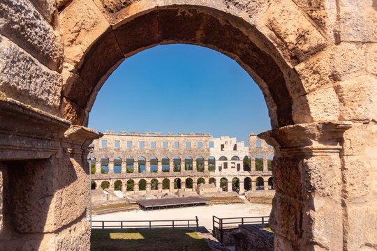 Old city of Pula