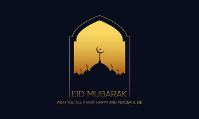 Obraz Eid ul adha Eid mubarak luxury, Modern Decoration Design  - fototapety do salonu