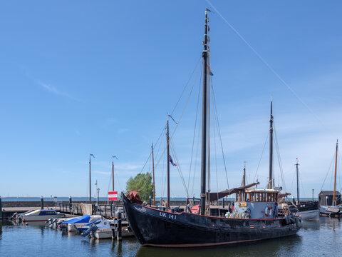 Urk Harbour, Flevoland Province, The Netherlands