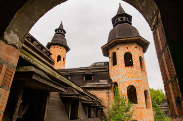 Fototapeta Opuszczony zamek obraz