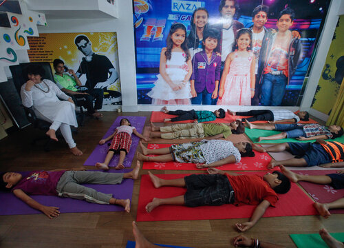 To match Reuters Life! INDIA-TV/CHILDREN