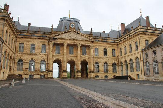 stanislas' castle in lunéville (france)