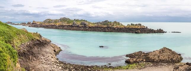 Obraz the Pointe du Grouin in Cancale, in Brittany - fototapety do salonu