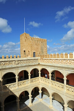 Castle of Moon (Castillo de Luna), now Town Hall of Rota province of Cadiz Andalusia Spain